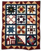 105: Elm Creek Sampler Quilt by Betty Belford