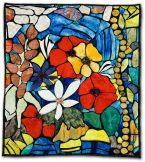 111: Stained Glass Bouquet 2004 by Deborah Deirdre Sevigny