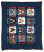 135: Plaid and Stars by Judy Isaacs