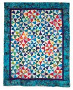 147: Kaleidoscope in Batiks by Karen Monath