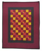 1st Prize - Pieced, Hand Quilted, Small
