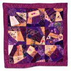312: Crazy (Quilt) for Flowers by Ruth Rothstein