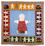 325: Doll Twin Quilt by Renee Fields