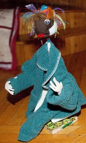 Coat Hanger Doll