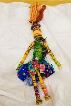Fabric Bead Doll