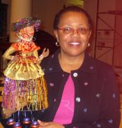 Deborah Williams and Her Dolls