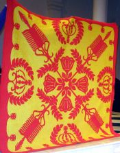 Hawaiian Monarch Quilt by Nancy's Sister