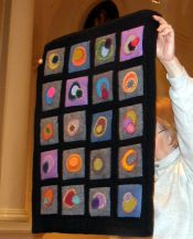Marilyn Lutzker-Penny Quilt adaptation