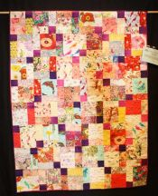 "Rossanna Wells - ""Enchilada It Is!"" - Large Pieced Quilts"
