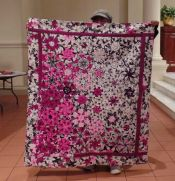Wendy - Purple Floral Quilt