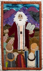 Shavuot - Detail from Traditions by Roz Manor