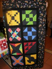 Quilts donated for Charity-April Meeting