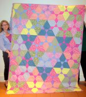 Dorothy Hill-India Fabric Quilt