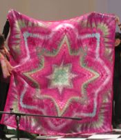 Ice Dyed Star Quilt