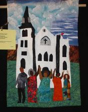 "Jacqueline Johnson ""Blessed Are The Peacemakers"" - Small Applique Quilts"