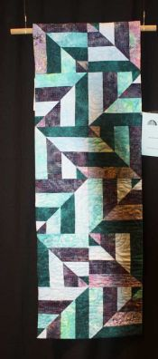 "Peggy McGeary - ""Kozmic Blues...and Greens"" - Small Pieced Quilts"