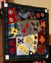Wool Carzy Quilt