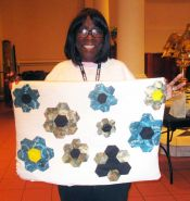 Betty Robertson - African Flowers Quilt