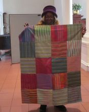 Betty Robertson - Striped Quilt
