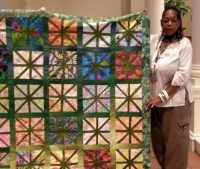 Sandi Howell-Everglade Botanical-Inspired by Empire Block of the Month