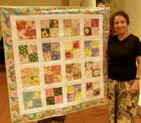 Peggy McGeary-Made from Floral Block of the Month