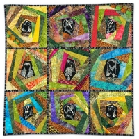 2nd Prize - Pieced, Machine Quilted, Small