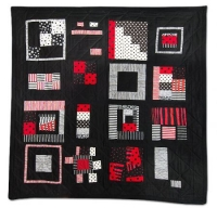 336: Red, Black and White Series #7: The Sampler by Wendy Higginbotham