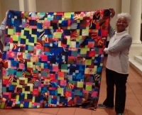 Margaret Simmons St. Kitt 9 Patch Quilt
