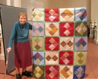 Mary Ferry - Square in Squares - Charity Top