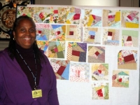 Maxine Broderick Townsend and the Made Fabric Blocks