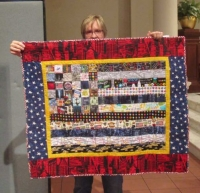 Diane Schneck - New York City Values Quilt