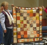 Floral Quilt - Autumn Colors