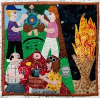 Lag B'Omer - Detail from Traditions by Roz Manor