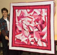 Stacey's Peppermint Stick Quilt