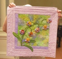 Small Floral Quilts