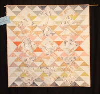 "Ivete Tecedor - ""Carkai Yuma"" - Large Pieced Quilts"
