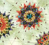 beaded kaleidoscope by Nancy Eha