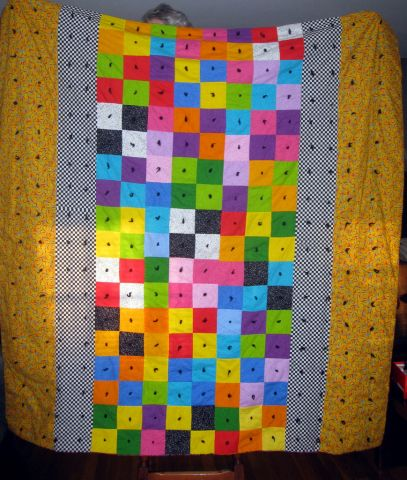 Charity Coach and Chat-Finished Quilt-Front