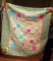 Karen Baskett - Wedding Signature Quilt
