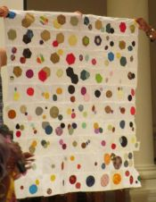 Betty Robertson - Colors and Orbs Quilt