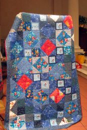 Marilyn Korn - twin size charity quilt