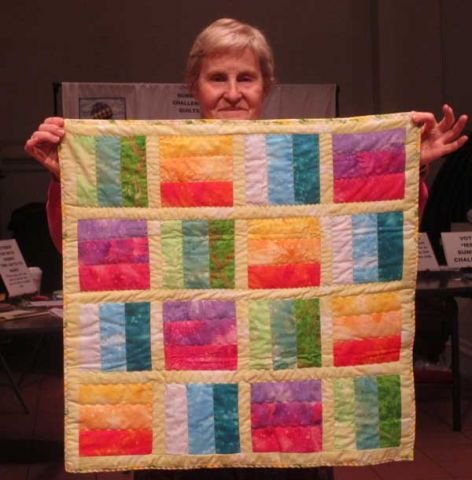 Mary Butler - Color Play Quilt