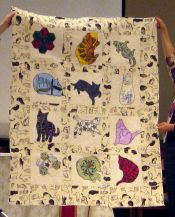 Lisa Kehrle-Cat Quilt