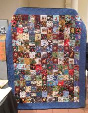 "Kate Iscol - ""Jacob's I Spy"" Quilt"