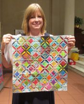Lisa Mason - Small Cathedral Windows Quilt