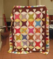 Lisa Mason - Diamond Wedding Quilt