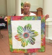 Karen Monath - Flower Power Wall Hanging