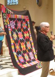 Louise Naples - Amish with a Twist Quilt from a kit