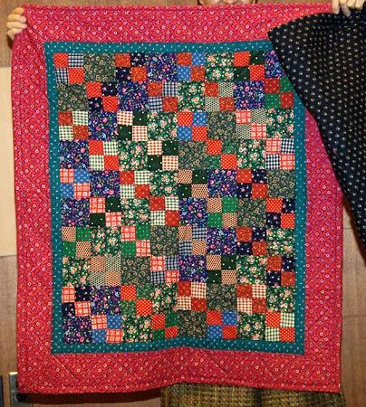 Quilt from Small Squares #2