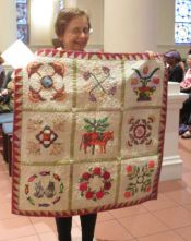 Sandy Schipior - Hand Applique Quilt